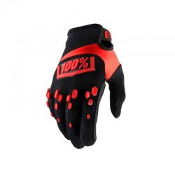 Gants 100% Airmatic noir rouge