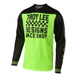 Maillot Troy lee design raceshop flo yellow