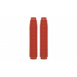 Soufflets de fourche plastique rouge