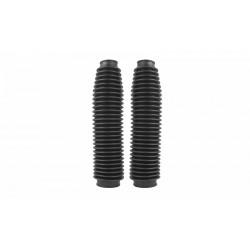 Soufflets de fourche plastique noir